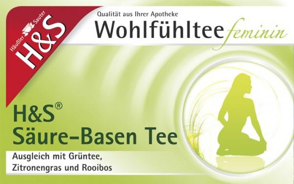 H&S Wohlfühl Säuren-Basen Tee