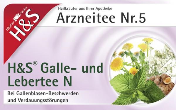 H&S Galle - und Lebertee N