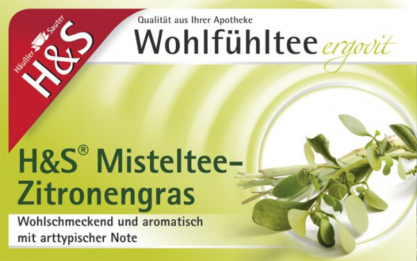 H&S Misteltee mit Zitronengras