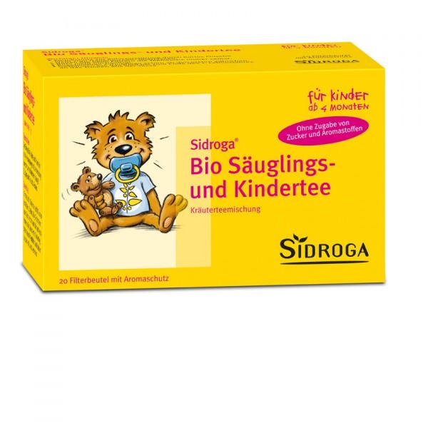 SIDROGA Bio Säuglings- und Kindertee