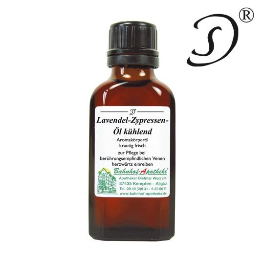 Lavendel-Zypressen-Öl kühlend, 50ml