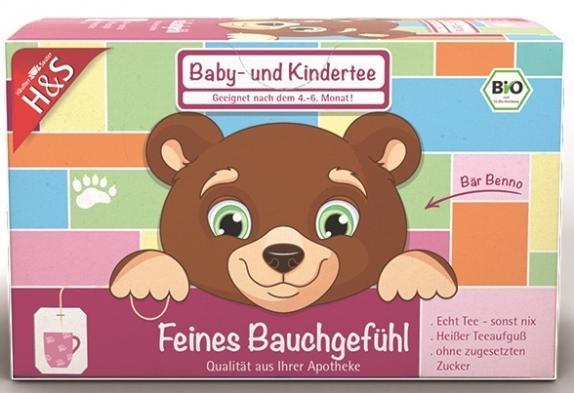 H&S Baby- und Kindertee Feines Bauchgefühl