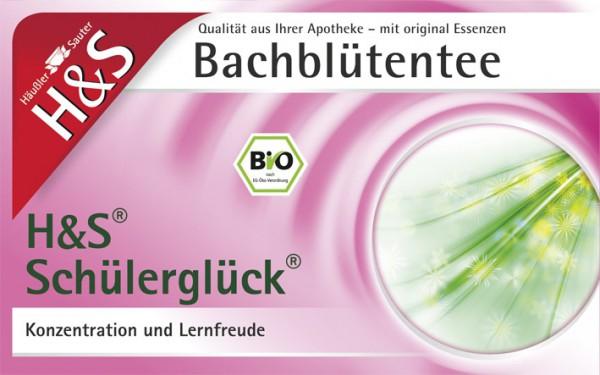 H&S Bio Bachblüten Tee Schülerglück