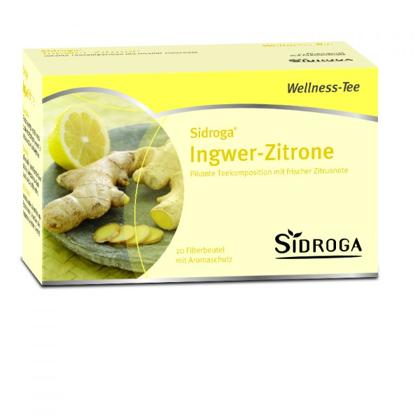 Sidroga Wellness Ingwer-Zitrone