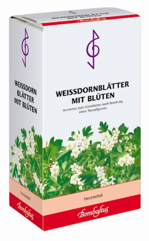 Bombastus Weissdornblätter mit Blüten 'Tee