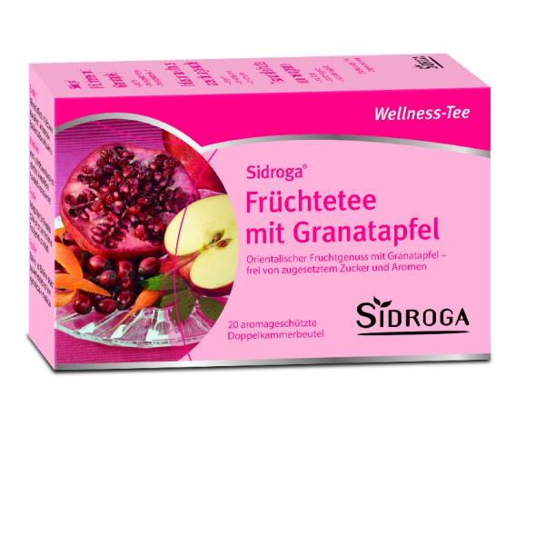 Sidroga Wellness Früchtetee mit Granatapfel
