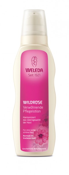 WELEDA Wildrosen-Pflegelotion 200ml