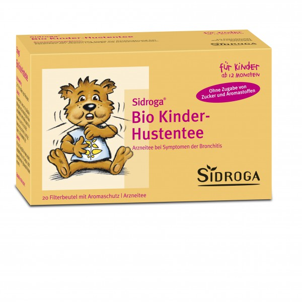 SIDROGA Bio Kinder-Hustentee