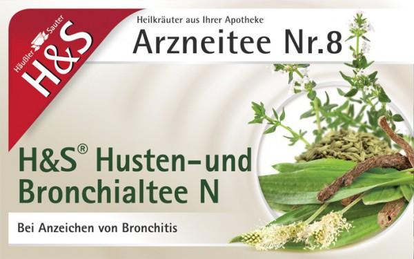 H&S Husten - und Bronchialtee N
