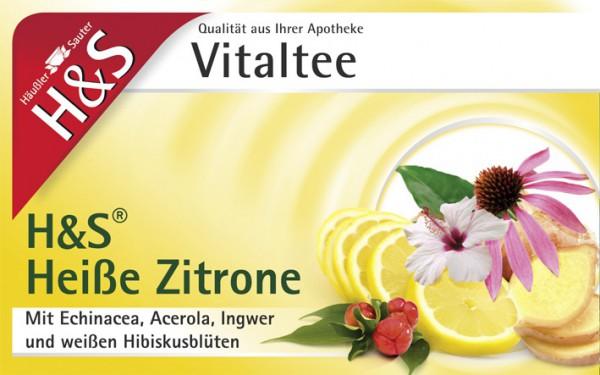 H&S Heisse Zitrone Vitaltee