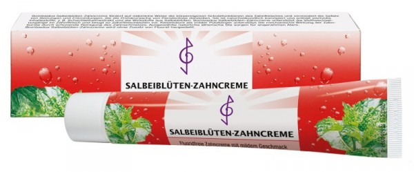 Bombastus Salbeiblüten-Zahncreme