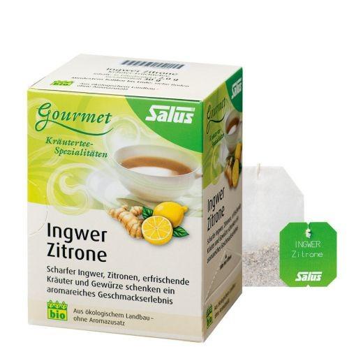 Ingwer Zitronen Tee