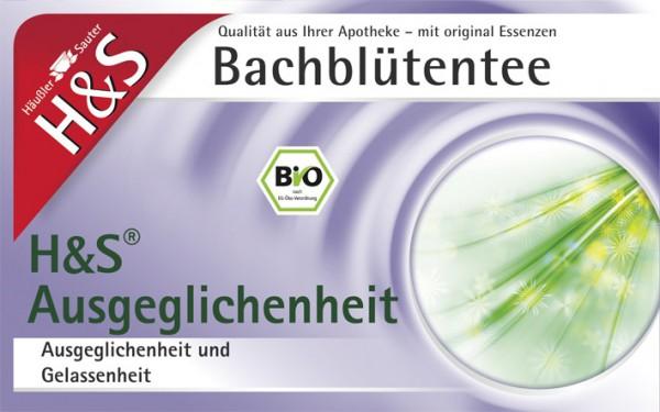 H&S Bio Bachblüten Tee Ausgeglichenheit