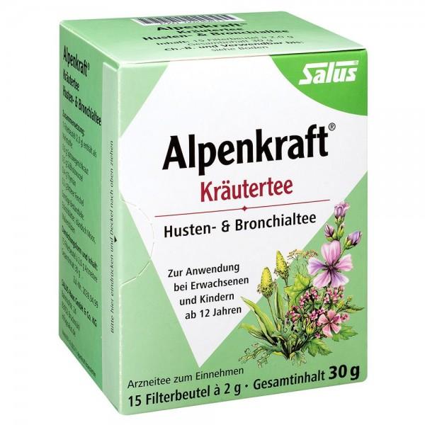 Salus Alpenkraft Kräutertee Husten und Bronchialtee