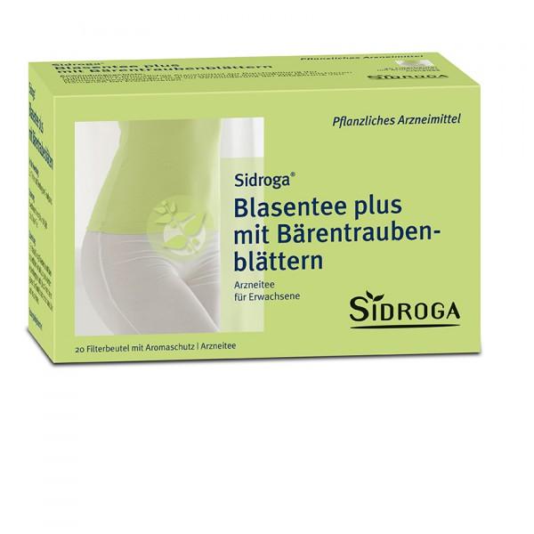 Sidroga Blasen plus mit Bärentraubenblätter Tee